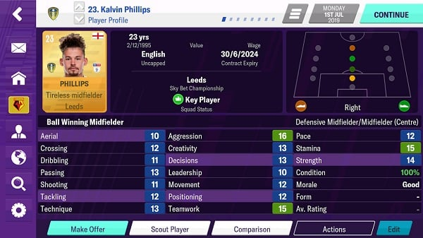 Football Manager 2020 Mobile trên pc