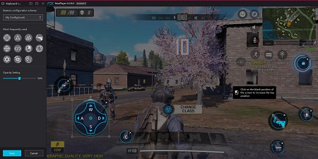 Call of duty mobile on emulator nox