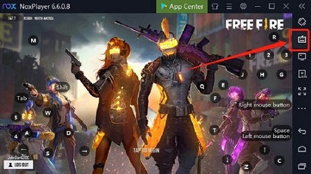 free fire on nox